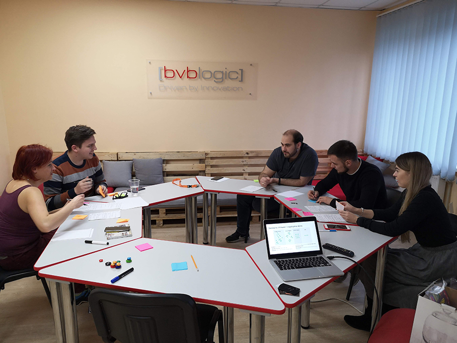 The Design Thinking Lab team in planning and organizing the New Year's Eve corporation